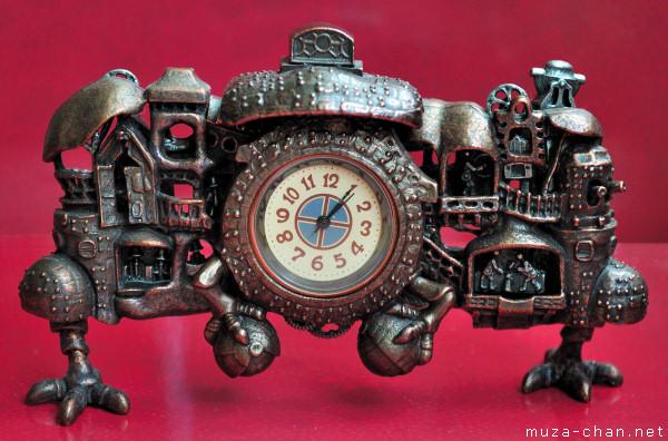 Hayao Miyazaki: NI-TELE really BIG clock Souvenir