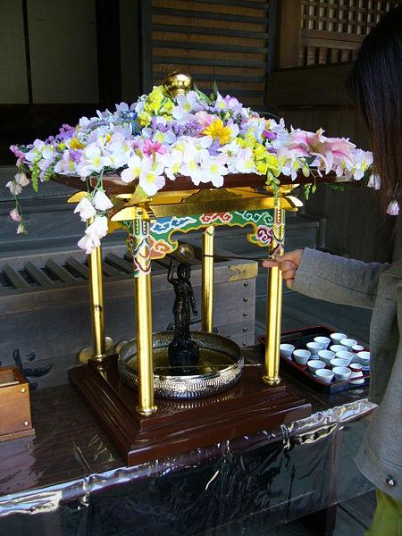 Hana Matsuri Kanpuku-ji Temple Katori