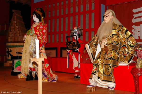 teatru kabuki - interior