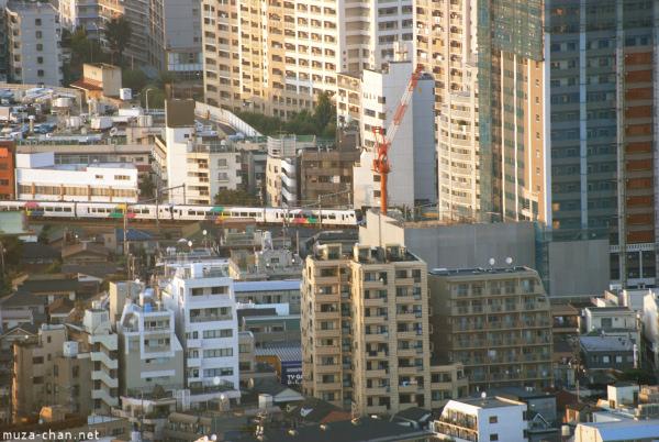 vedere din Tokyo Metropolitan Building