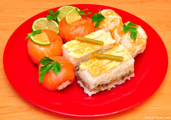 Temari sushi & oshi sushi