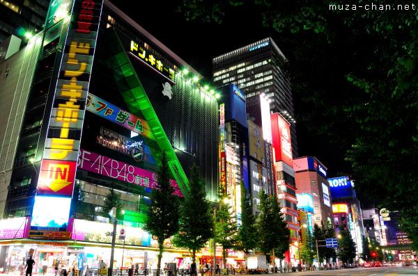 Akihabara at night, Tokyo