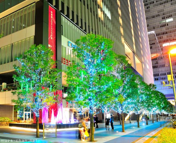 Akihabara UDX Winter Illumination, Tokyo