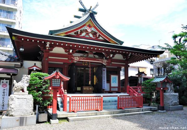 Main Building Akiba Shrine Asakusa