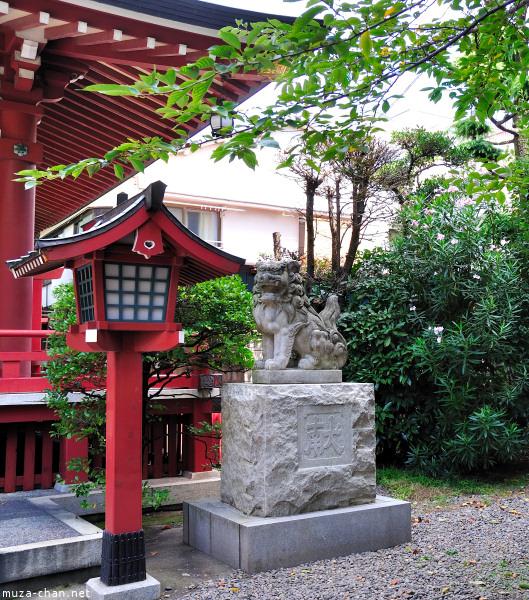 Koma-inu, Akiba Shrine Asakusa