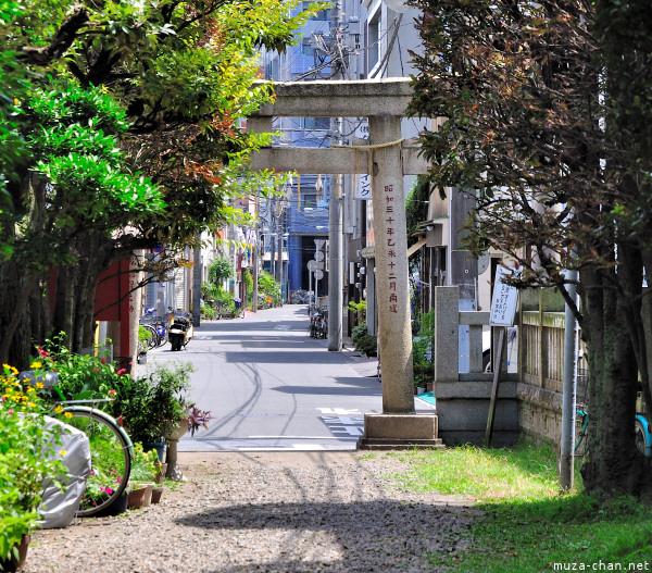 Torii, Akiba Shrine Asakusa