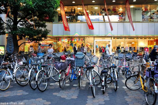 Bicycle Parking Asakusa