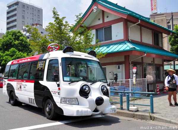 Asakusa Free Shuttle Bus - Panda Bus Bus Nin Nin, Tokyo