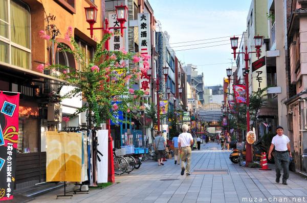 A Street in Asakusa, Tokyo
