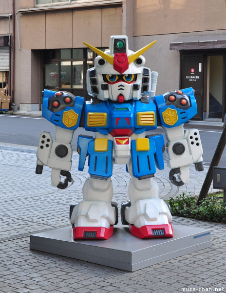 Gundam statue, Bandai's Headquarters