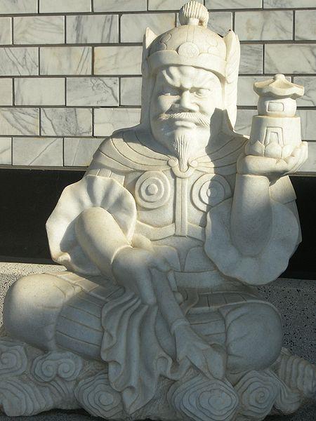 Bishamonten statue