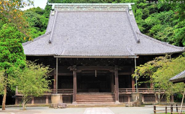 Chokozan Myohonji Temple, Soshi-do Hall, Kamakura