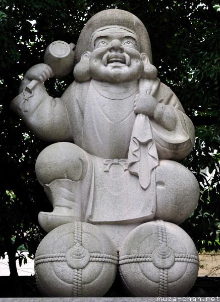 Daikokuten statue, Kanda Myōjin Shrine, Tokyo