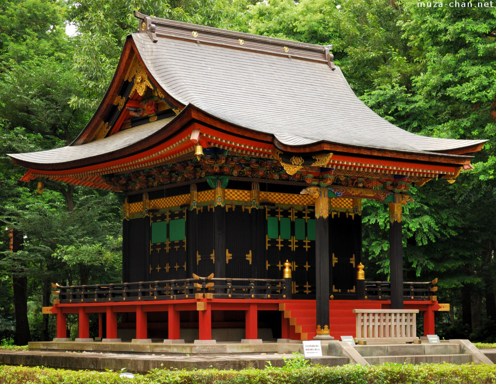 old japanese architecture jisho in mausoleum
