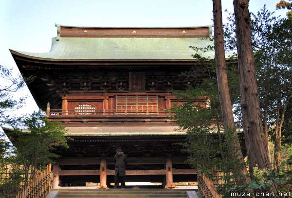 Engakuji Temple, Sanmon Gate, Kamakura