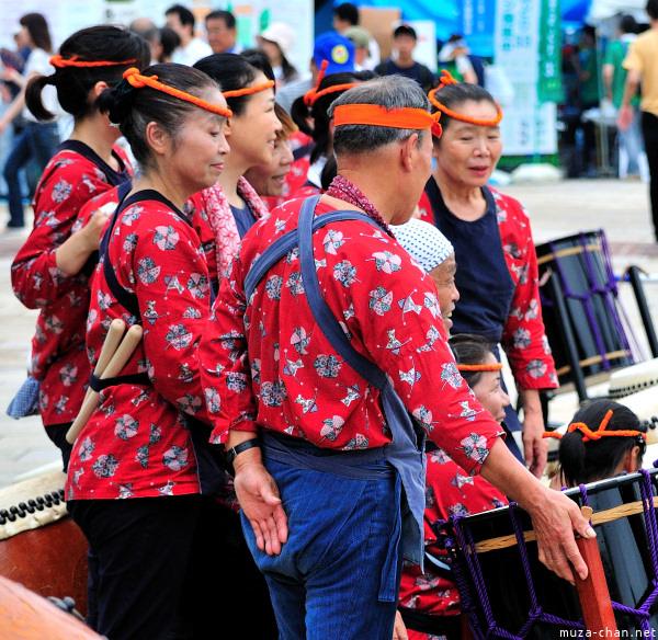 Taiko Drummers, Furusato Kumin Matsuri