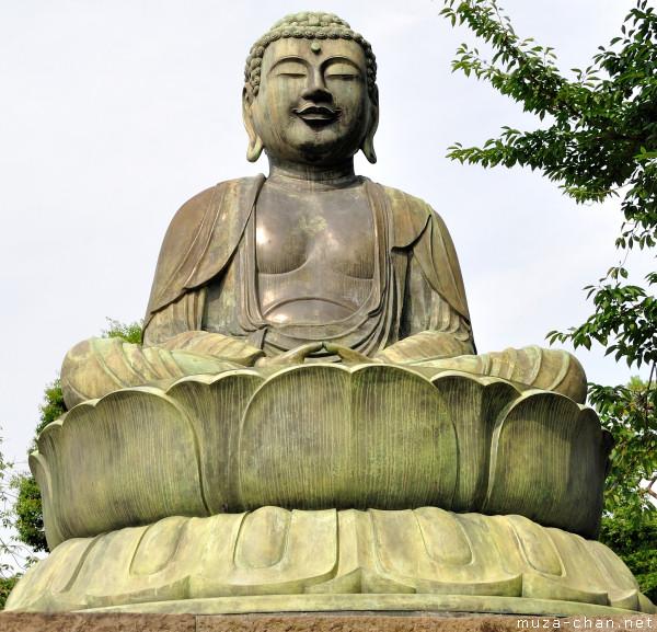 Gokoku-ji Temple Daibutsu, Tokyo