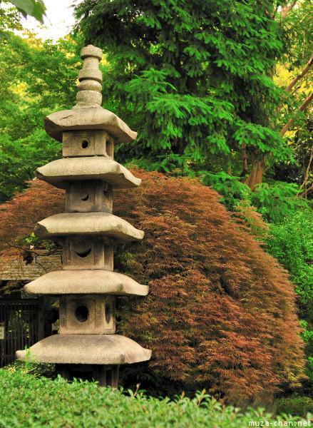 Stone Pagoda at Gotoku-ji Garden