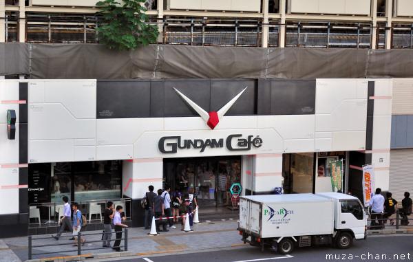 Gundam Cafe, Akihabara, Tokyo