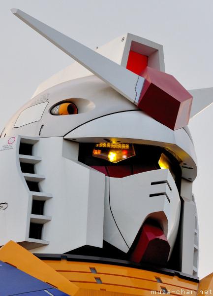Gundam Head Close-up, Odaiba, Tokyo