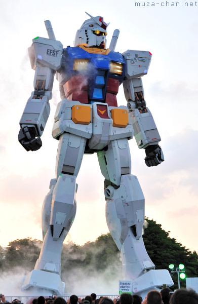 Gundam, Taking Off, Odaiba, Tokyo