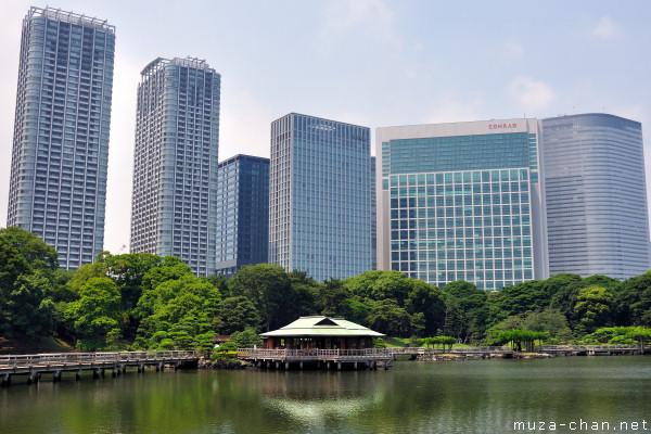 Nakajima no Ochaya, Hama-rikyu Gardens, Tokyo