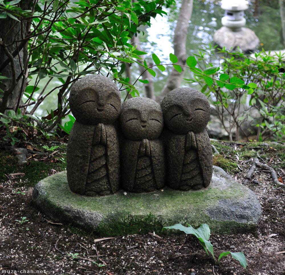 Three Chibi Jizo