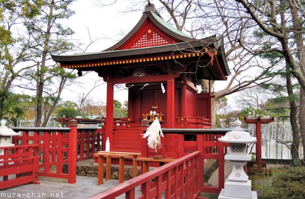 Hata-age Benzaiten Shrine, Kamakura