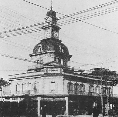 Hattori building in Meiji era