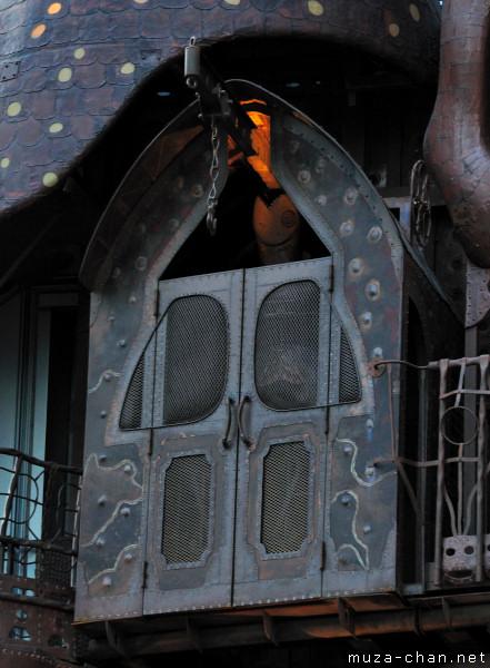Hayao Miyazaki: NI-TELE really BIG clock, Nippon Television Tower, Tokyo