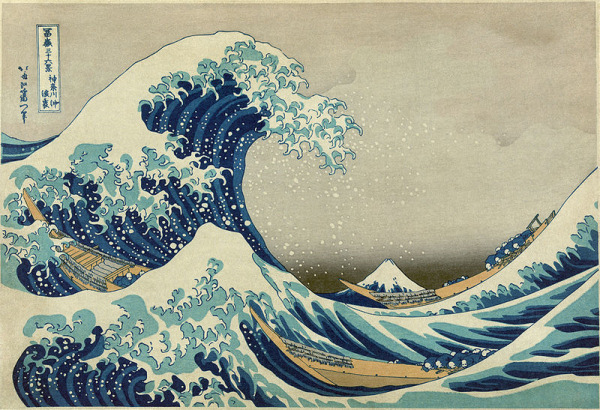 Hokusai - The great wave off Kanagawa