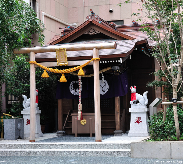 Inari Shrine near Suitengumae station Chuo