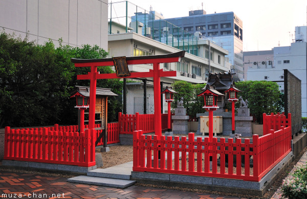 Inari Shrine,  World Trade Center, Tokyo