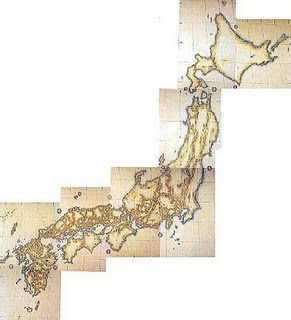 Ino Tadataka Map
