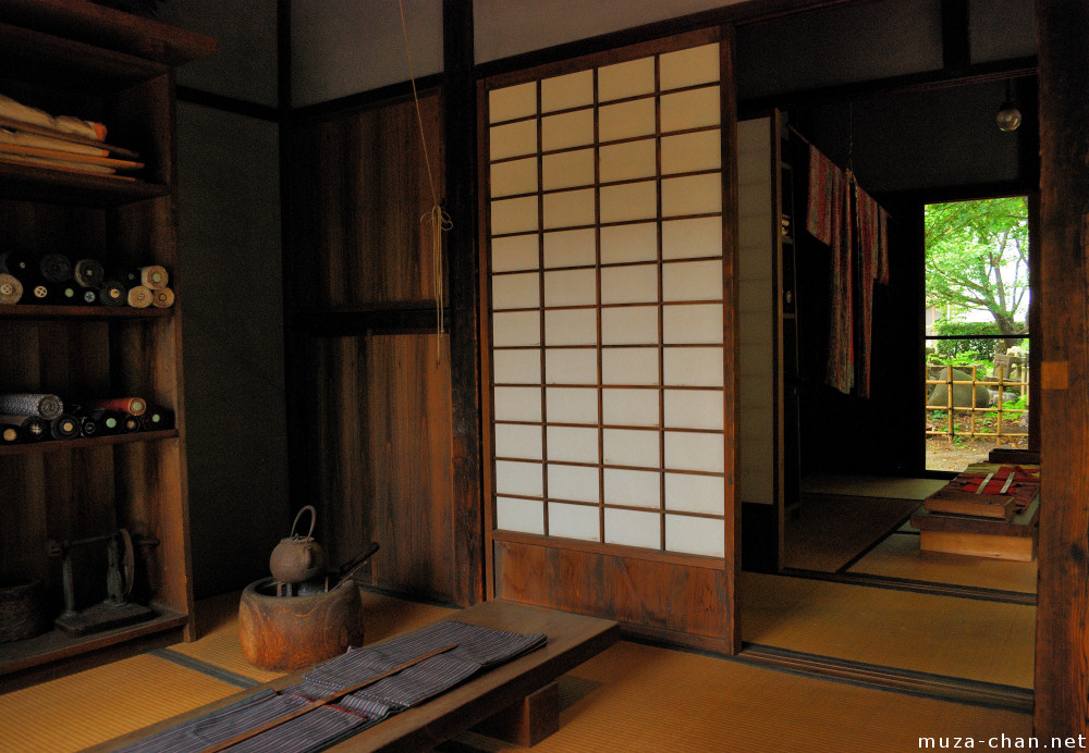 Traditional Japanese Room, Tailor Workshop