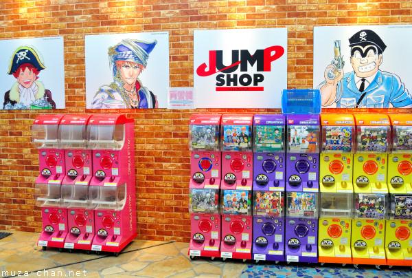 Jump Shop, Aqua City, Odaiba, Tokyo