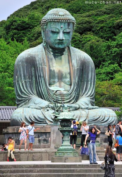 Great Buddha (Daibutsu), Kamakura