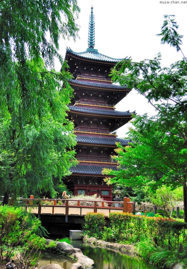 Kan'ei-ji Pagoda Ueno