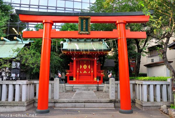 Kanda Myojin Suehiro Inari Shrine