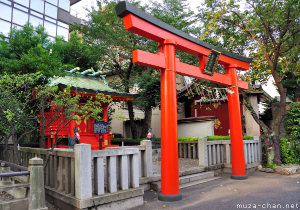 Torii, Kanda Myojin Suehiro Inari Shrine