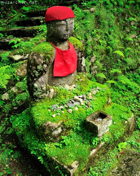 Jizo statue, Kanmangafuchi Abyss, Nikko