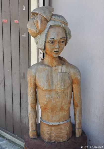 Kappa statue from Kappabashi street