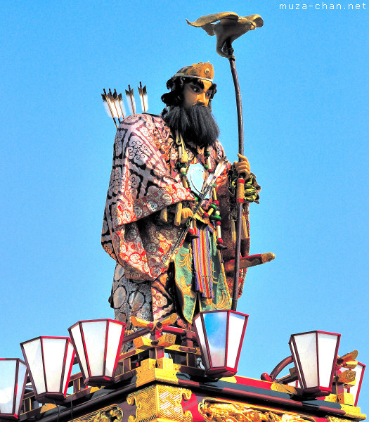 Emperor Jimmu Float, Kumagaya Uchiwa Matsuri, Saitama