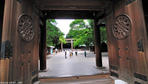 Meiji Jingu Gates, Tokyo