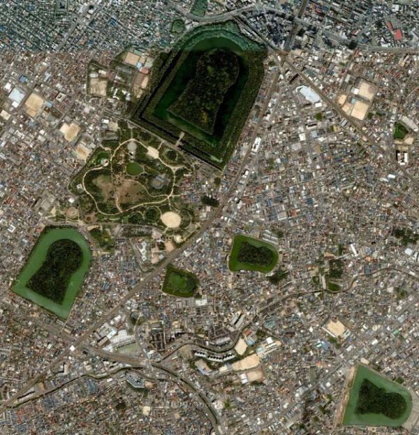 Mozu Tumulus Cluster Sakai City