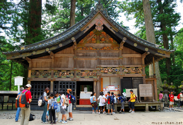 Nikko Tourists, The Sacred Stable, Toshougu Shrine, Nikko