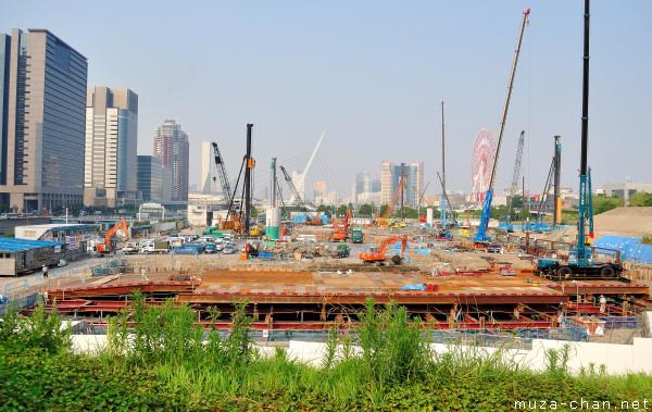 Odaiba Construction Site, Odaiba, Tokyo