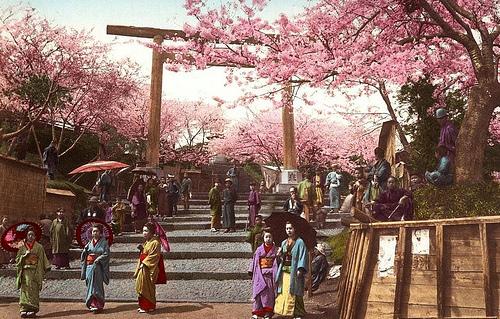 A Colorful Day at Iseyama Shrine, Yokohama