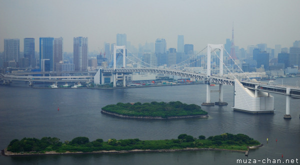 Rainbow Bridge, View from Fuji Tv