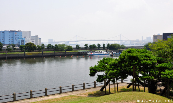 Rainbow Bridge, View from Hamarikyu Gardens